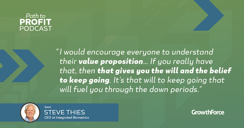 GrowthForce Path To Profit Steve Thies 2