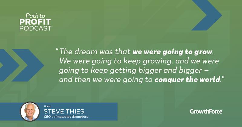 GrowthForce Path To Profit Steve Thies 3