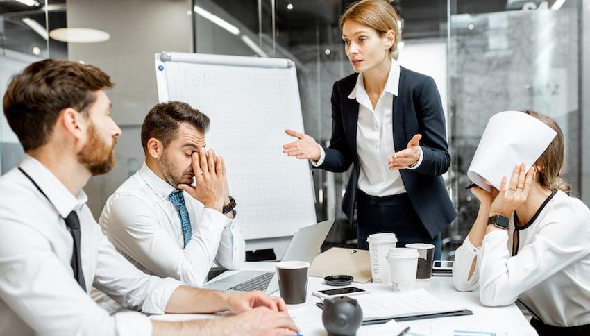 Sales Profitability Struggling