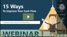 Cash Flow Webinar