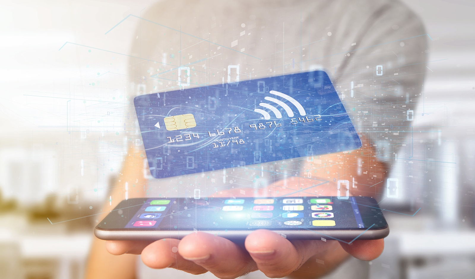 mobile payment and credit cards