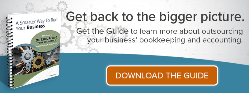 Get The Guide to Outsourcing Your Bookkeeping and Accounting