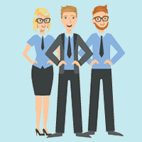 You'll Get an Amazing, Expert, Dedicated 3-Person Team in our U.S. Based Service Center