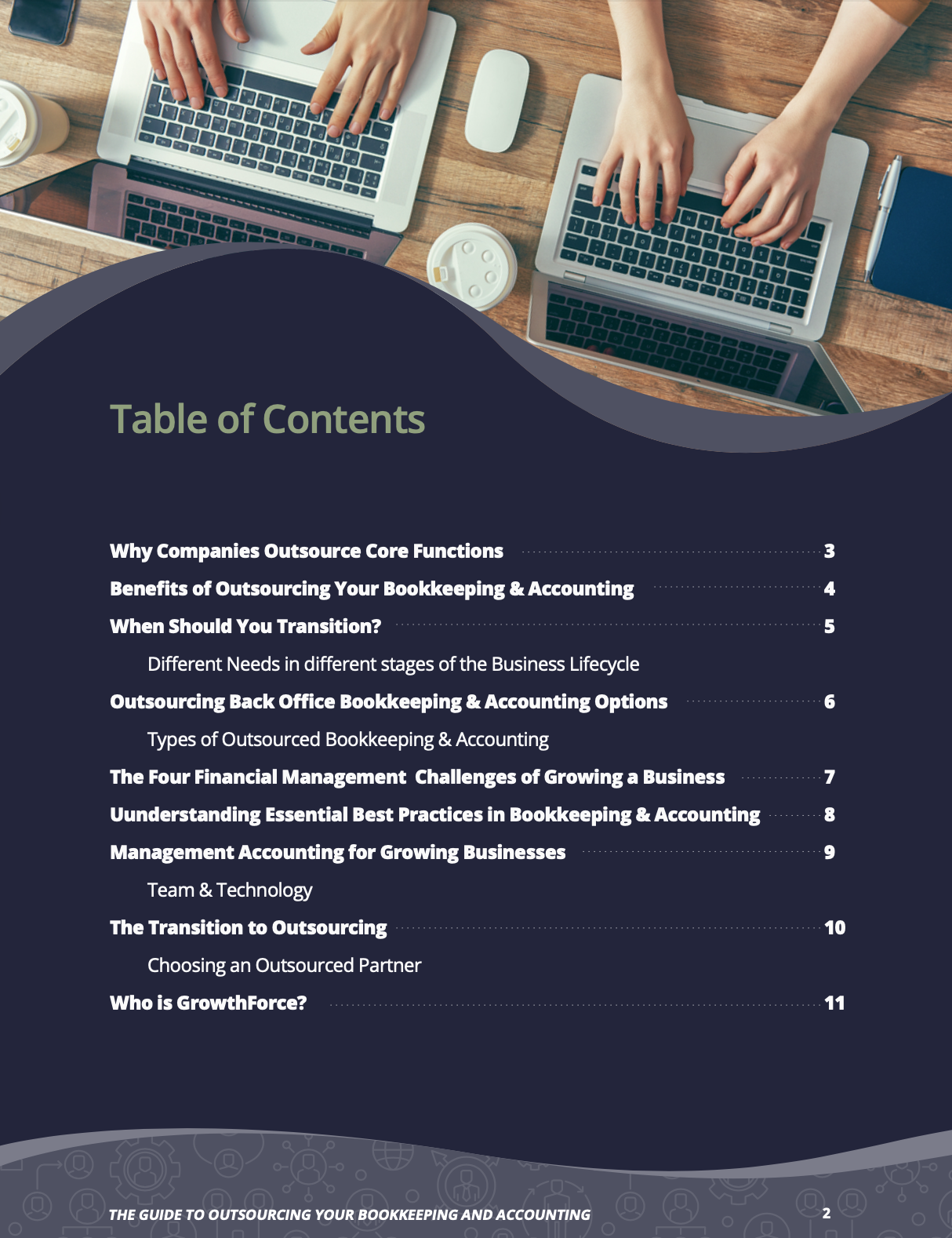 Guide To Outsourcing TOC-2