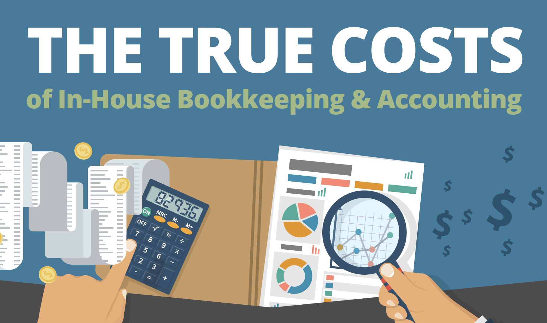 The Hidden Costs of In-House Bookkeeping and Accounting